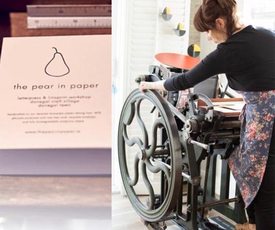 The Pear in Paper Studio